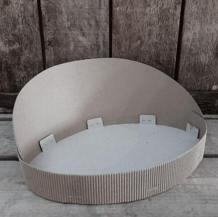 Kartonnen rugschaal