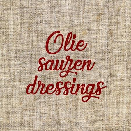 Olie, saus en dressing